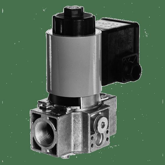 224382 DMV-D 5065/11 Двойной электромагнитный клапан, дроссель расхода, Pmax=500 mBar, присоединение