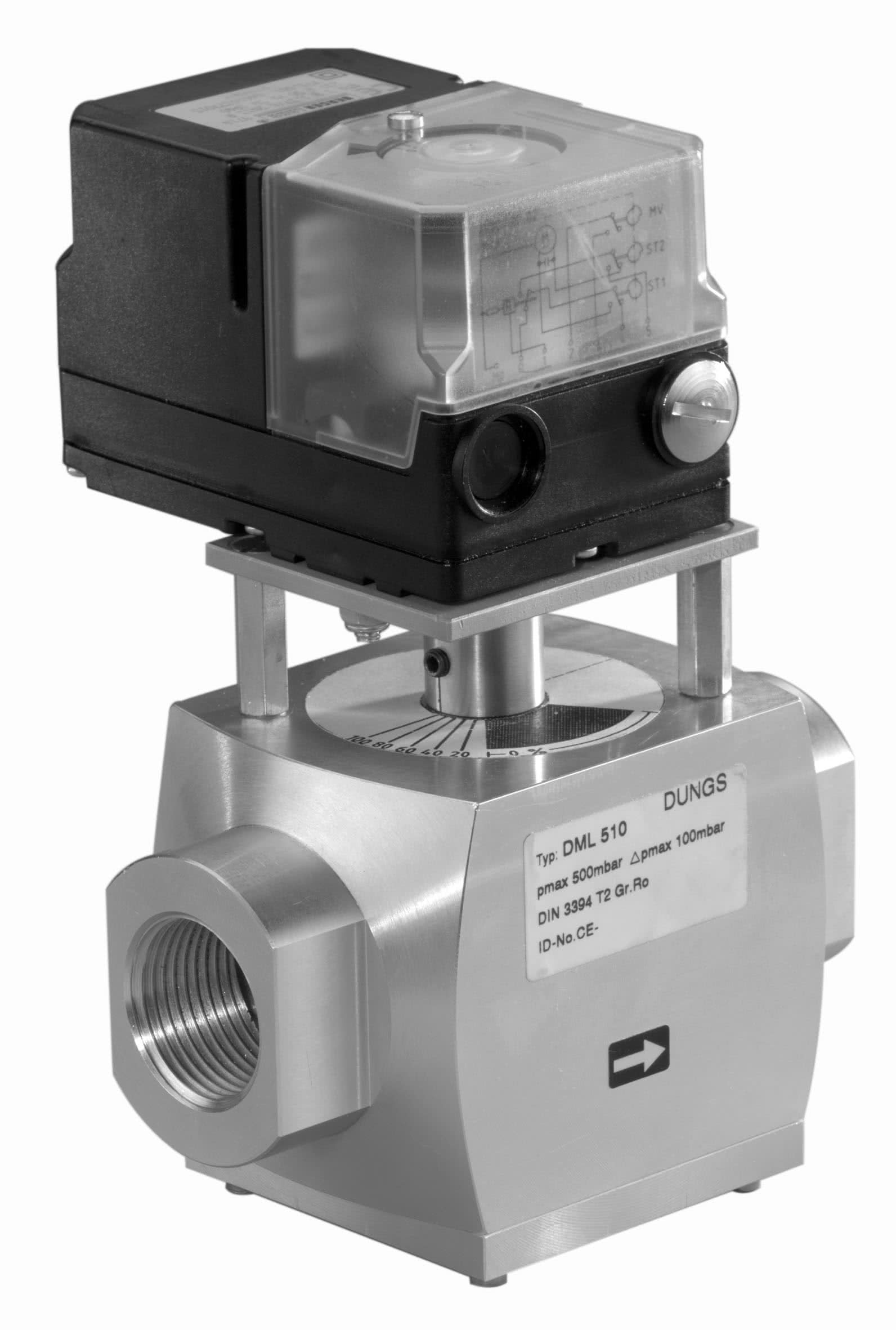 Dml Motor Valve Dungs Combustion Controls